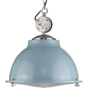 Medal - Pendants Light - 1 Light in Coastal style - 17.38 Inches wide by 17.63 Inches high