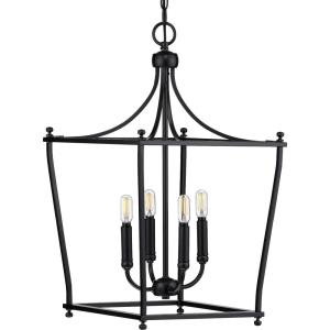 Parkhurst - 4 Light in New Traditional and Transitional style - 14.38 Inches wide by 24.38 Inches high