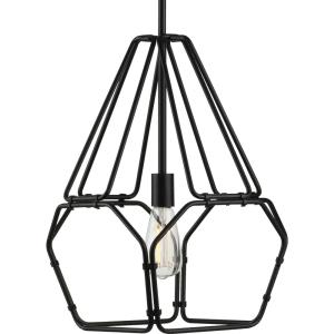 Ballinger - Pendants Light - 1 Light in Bohemian and Farmhouse style - 12.5 Inches wide by 18.5 Inches high