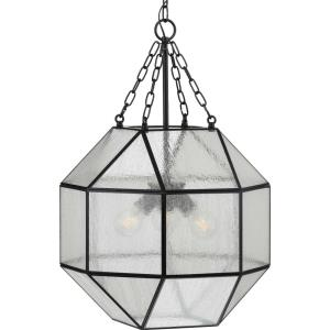 Mauldin - Pendants Light - 3 Light in Bohemian and Farmhouse style - 17 Inches wide by 27.25 Inches high
