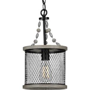Austelle - Pendants Light - 1 Light in Farmhouse style - 8.5 Inches wide by 15.62 Inches high