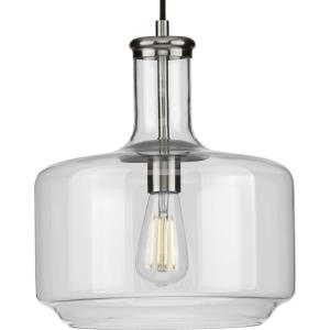 Latrobe - Pendants Light - 1 Light - Cylinder Shade in Coastal style - 12.25 Inches wide by 14 Inches high