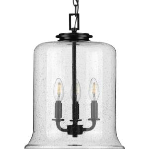 Winslett - Pendants Light - 3 Light - Cylinder Shade in Coastal style - 12.88 Inches wide by 17.13 Inches high