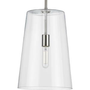 Clarion - Pendants Light - 1 Light - Cone Shade in Coastal style - 10.5 Inches wide by 15.88 Inches high
