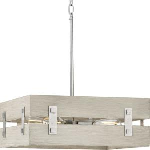 Hemsworth - Pendants Light - 4 Light in Coastal style - 18 Inches wide by 7 Inches high