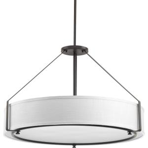 Ratio - Pendants Light - 6 Light in Coastal style - 30 Inches wide by 19.13 Inches high