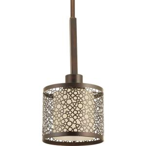 Mingle - Pendants Light - 1 Light in Bohemian and Mid-Century Modern style - 6 Inches wide by 6.25 Inches high