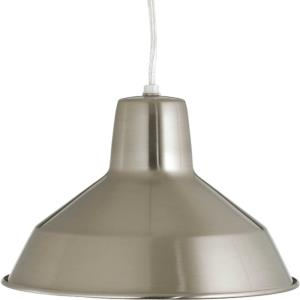 Metal Shade - Pendants Light - 1 Light in Farmhouse style - 10.13 Inches wide by 6.5 Inches high