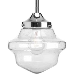 Academy - Pendants Light - 1 Light in Farmhouse style - 8 Inches wide by 9 Inches high