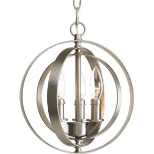 Equinox - Pendants Light - 3 Light in Luxe and New Traditional and Transitional style - 10.13 Inches wide by 11.75 Inches high