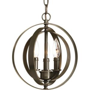 Equinox Pendant 3 Light Metal