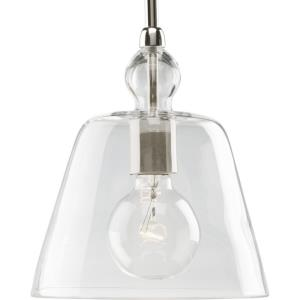Glass Pendants - Pendants Light - 1 Light in Coastal style - 8 Inches wide by 8.75 Inches high