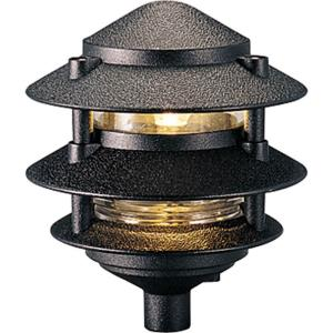 Pagoda - 7.125 Inch Height - Landscape Light - 1 Light - Line Voltage - Wet Rated