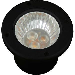 LED Well Light - 4 Inch Height - Landscape Light - 1 Light - Low Voltage - Wet Rated