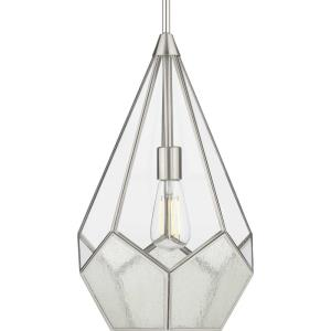 Cinq - Pendants Light - 1 Light in Bohemian and Farmhouse style - 12 Inches wide by 18.5 Inches high