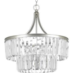 Glimmer - Pendants Light - 5 Light - Drop Shade in Luxe and New Traditional and Transitional style - 22.25 Inches wide by 23.88 Inches high