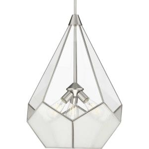 Cinq - Pendants Light - 3 Light in Bohemian and Farmhouse style - 19 Inches wide by 25.88 Inches high