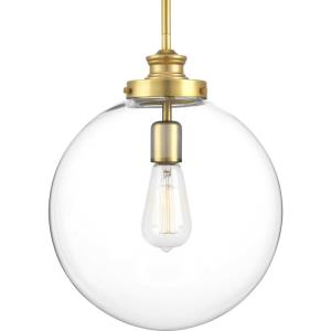 Penn - Pendants Light - 1 Light in Farmhouse style - 12 Inches wide by 15 Inches high
