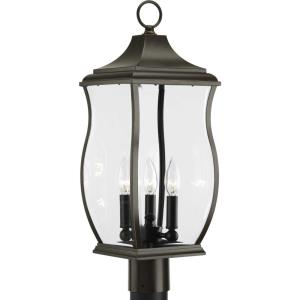 Township - 3 Light Outdoor Post Lantern