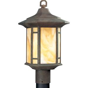 Arts And Crafts - 18.125 Inch Height - Outdoor Light - 1 Light - Line Voltage - Wet Rated
