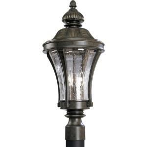Nottington - 22.5 Inch Height - Outdoor Light - 3 Light - Line Voltage - Wet Rated