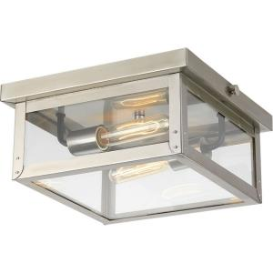 Union Square - Outdoor Light - 2 Light in Farmhouse style - 12.38 Inches wide by 5.5 Inches high