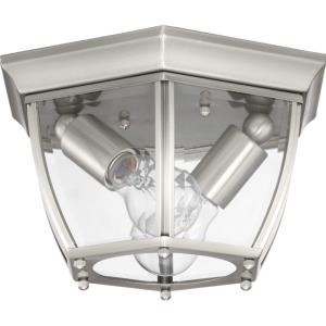 New Haven - 6 Inch Height - Outdoor Light - 2 Light - Line Voltage - Damp Rated
