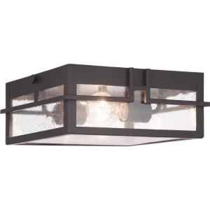 Boxwood - Outdoor Light - 2 Light in Modern Craftsman and Modern Mountain style - 11.38 Inches wide by 4.5 Inches high