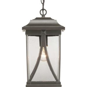 Abbott - Outdoor Light - 1 Light - Square Shade in Modern Craftsman and Transitional style - 8.25 Inches wide by 15.25 Inches high