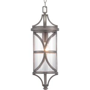 Morrison - Outdoor Light - 1 Light - Cylinder Shade in Modern style - 7.5 Inches wide by 22 Inches high