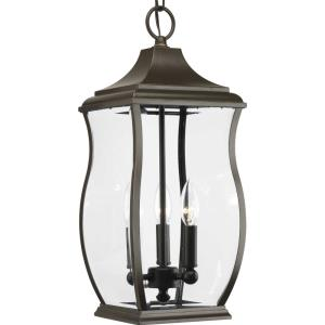 Township - 19.75 Inch Height - Outdoor Light - 3 Light - Line Voltage - Damp Rated