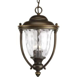 Prestwick - Outdoor Light - 3 Light in New Traditional style - 10.75 Inches wide by 17.75 Inches high