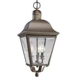 Andover - Outdoor Light - 3 Light in Coastal style - 9.5 Inches wide by 19.5 Inches high