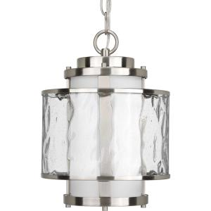 Bay Court - 1 Light - Cylinder Shade in Coastal style - 8.75 Inches wide by 12.75 Inches high