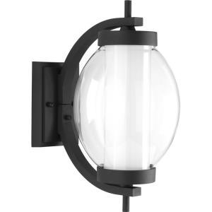 Ellipsis - 15.5 Inch 9W 1 LED Outdoor Small Wall Lantern