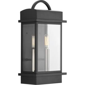 Santee - Outdoor Light - 2 Light in Farmhouse style - 8 Inches wide by 15.25 Inches high