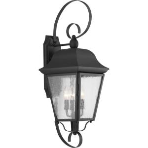 Kiawah - 27.25 Inch Height - Outdoor Light - 3 Light - Line Voltage - Wet Rated