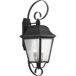 Kiawah - 34.5 Inch Height - Outdoor Light - 3 Light - Line Voltage - Wet Rated
