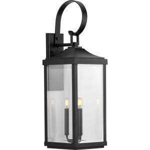 Gibbes Street - 30.625 Inch Height - Outdoor Light - 3 Light - Line Voltage - Wet Rated