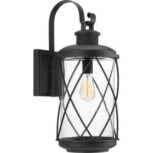 Hollingsworth - Outdoor Light - 1 Light in Farmhouse style - 10 Inches wide by 24 Inches high