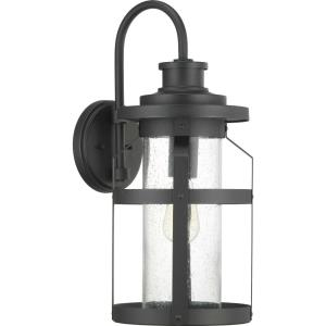 Haslett - Outdoor Light - 1 Light in Farmhouse style - 9.38 Inches wide by 22.13 Inches high