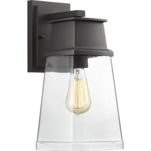 Greene Ridge - Outdoor Light - 1 Light - Square/Rectangular Shade in Modern Craftsman style - 6.75 Inches wide by 14.25 Inches high