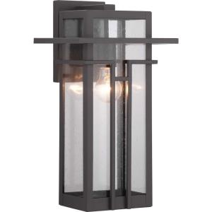 Boxwood - Outdoor Light - 1 Light in Modern Craftsman and Modern Mountain style - 9 Inches wide by 16.5 Inches high