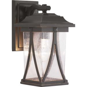 Abbott - Outdoor Light - 1 Light - Square Shade in Modern Craftsman and Transitional style - 6.25 Inches wide by 12.25 Inches high