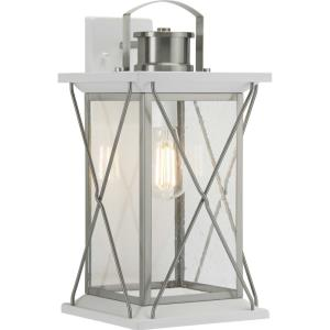 Barlowe - Outdoor Light - 1 Light in Farmhouse style - 9.12 Inches wide by 19 Inches high