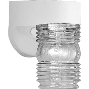Polycarbonate Outdoor - 7.25 Inch Height - Outdoor Light - 1 Light - Line Voltage - Wet Rated