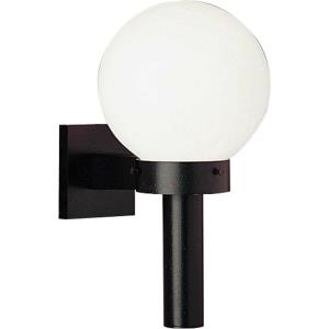 Acrylic Globe - One light Wall mount