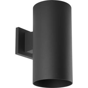 Cylinder - Outdoor Light - 1 Light - in Modern style - 6 Inches wide by 12 Inches high