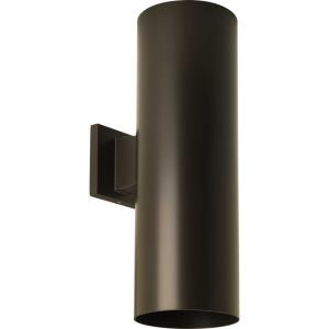 Cylinder - 18 Inch 58W 2 LED Outdoor Wall Mount