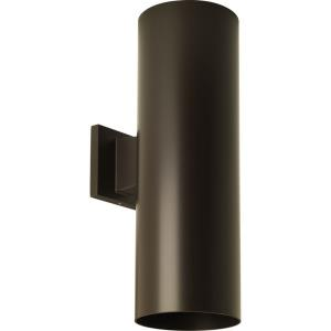 Cylinder - Outdoor Light - 2 Light in Modern style - 6 Inches wide by 18 Inches high